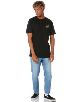 BLACK MENS CLOTHING SWELL TEES - S5203000BLACK