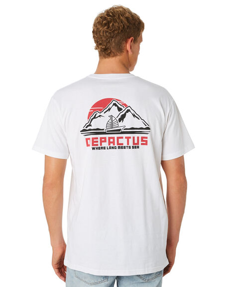 WHITE MENS CLOTHING DEPACTUS TEES - D5194003WHITE