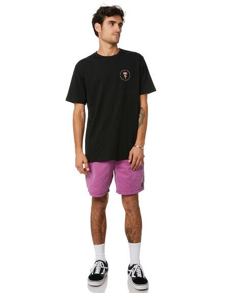 BLACK MENS CLOTHING STAY TEES - STE-20305BLK