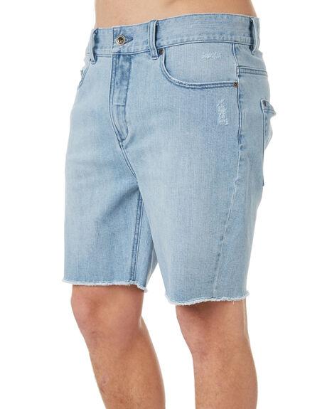 VINTAGE BLUE MENS CLOTHING RVCA SHORTS - R182314VBLU