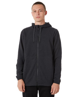 BLACK HEATHER MENS CLOTHING HURLEY JUMPERS - 894983032
