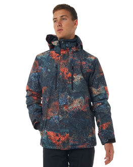MARINE IGUANA REAL SNOW OUTERWEAR QUIKSILVER JACKETS - EQYTJ03153NMS9