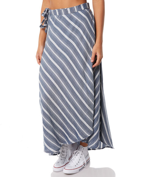 NAVY STRIPE OUTLET WOMENS O'NEILL SKIRTS - 4722406-21A