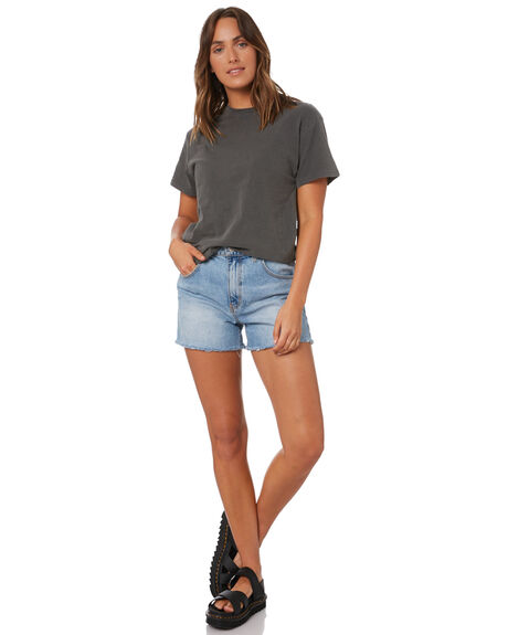 CHARCOAL WOMENS CLOTHING SILENT THEORY TEES - 6073040CHAR