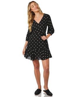 PRINT WOMENS CLOTHING SASS DRESSES - 12588DWSS4788