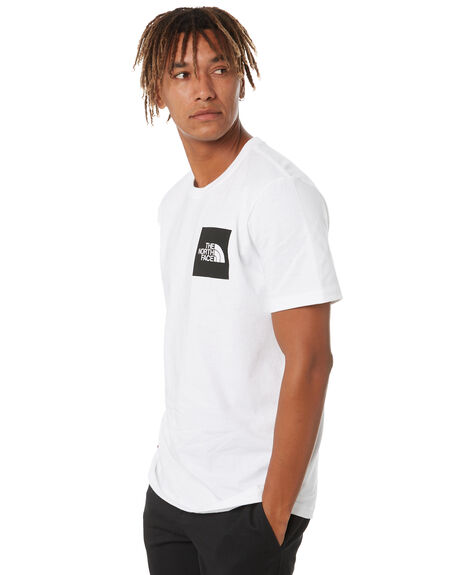 TNF WHITE MENS CLOTHING THE NORTH FACE TEES - NF0A55UXFN4