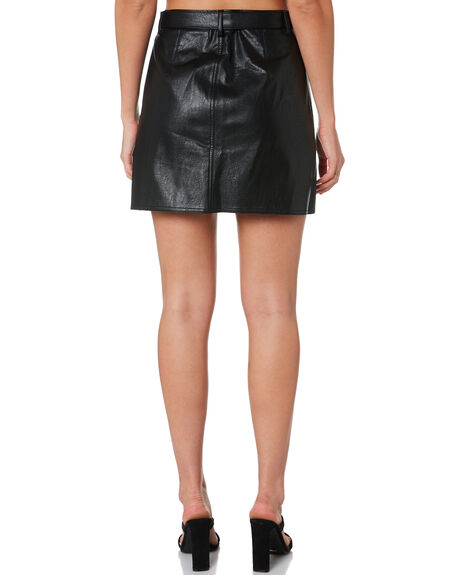 BLACK WOMENS CLOTHING MINKPINK SKIRTS - MD1910933BLK