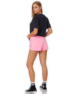 PINK WOMENS CLOTHING HUFFER SHORTS - WSH94S6406PINK
