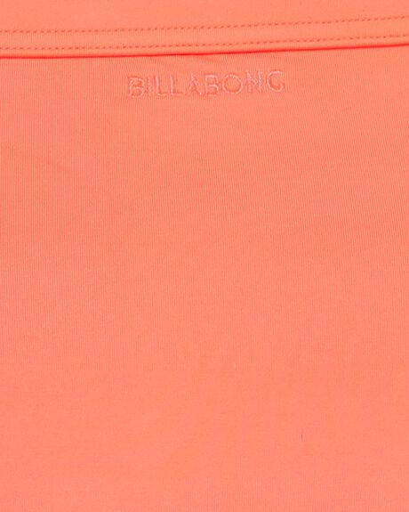 NEON CORAL WOMENS SWIMWEAR BILLABONG BIKINI BOTTOMS - BB-6592678-NNC