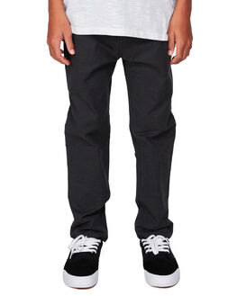 DARK GREY HEATHER KIDS BOYS QUIKSILVER PANTS - EQBNP03076-KRPH