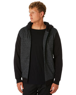 DARK GREY MARLE MENS CLOTHING RIP CURL JUMPERS - CFEOU18538