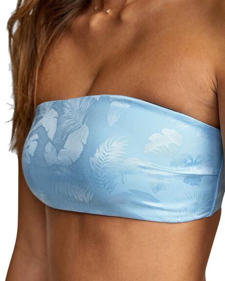 BLUE SKY WOMENS SWIMWEAR RVCA BIKINI TOPS - RV-R417848-BSY