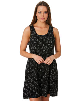 BLACK WOMENS CLOTHING SWELL DRESSES - S8188445BLK