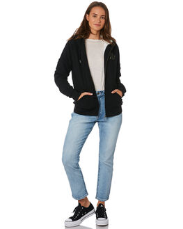 BLACK WOMENS CLOTHING VOLCOM JUMPERS - B3111975BLK