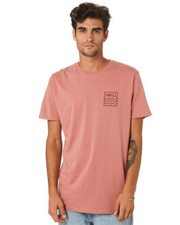 PEACH CORAL OUTLET MENS SWELL TEES - S5201021PCHCL