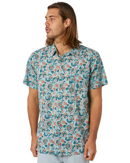 HAZY BLUE MENS CLOTHING THE CRITICAL SLIDE SOCIETY SHIRTS - SS1829HZBLU
