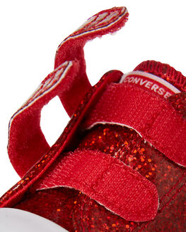 CHERRY RED KIDS TODDLER GIRLS CONVERSE FOOTWEAR - 762345CRED