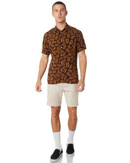 NAVY FERN MENS CLOTHING BARNEY COOLS SHIRTS - 304-CC2-NVYFN