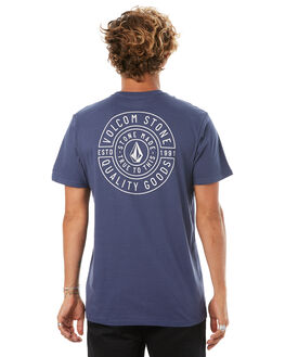 BLUE MENS CLOTHING VOLCOM TEES - A5041773BLU