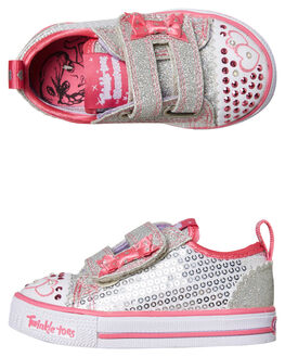 MULTI KIDS GIRLS SKECHERS SNEAKERS - 10764NSLHP