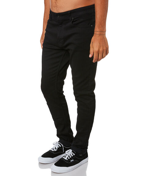 PRIME BLACK MENS CLOTHING LEE JEANS - L-605759-U35PBLK
