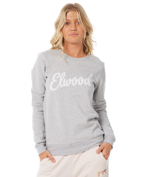 GREY MARLE WOMENS CLOTHING ELWOOD JUMPERS - W83201-309