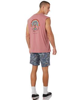 ROSE MENS CLOTHING BARNEY COOLS SINGLETS - 137-CC1ROSE