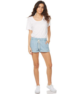 CHAMBRAY WOMENS CLOTHING SWELL SHORTS - S8173231CHAM