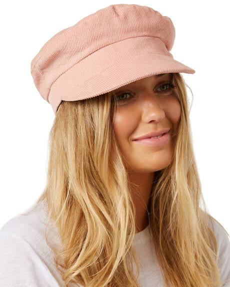 PINK OUTLET WOMENS LACK OF COLOR HEADWEAR - DNSCAPPINK1PINK