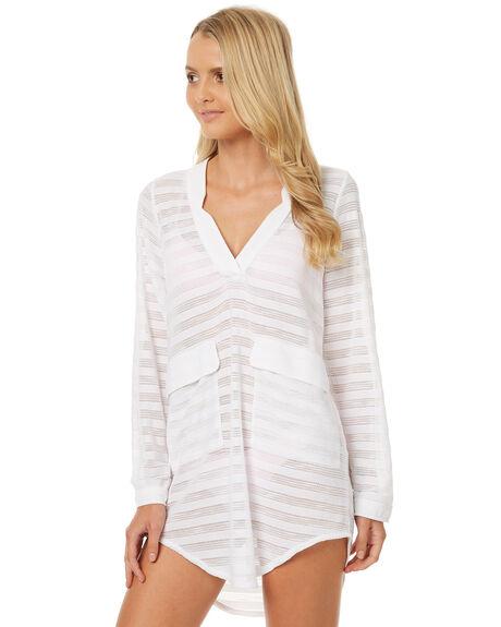 WHITE WOMENS CLOTHING BILLABONG FASHION TOPS - 6572155WHT