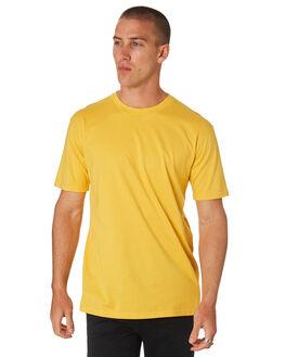 YELLOW MENS CLOTHING AS COLOUR TEES - 5026YELLO