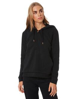 WASHED BLACK WOMENS CLOTHING VOLCOM JUMPERS - B3112077WSB