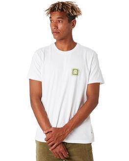 WHITE MENS CLOTHING KATIN TEES - TSELY05WHT