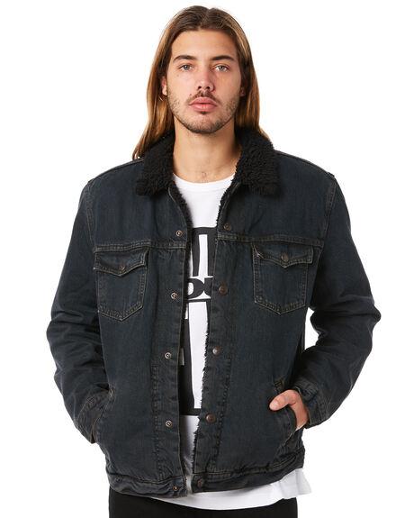 BLACK MENS CLOTHING LEVI'S JACKETS - 36032-0000