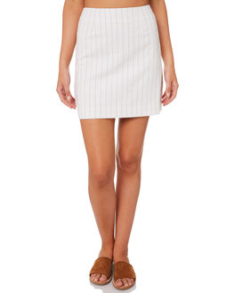 STRIPE OUTLET WOMENS NUDE LUCY SKIRTS - NU23397STRIPE