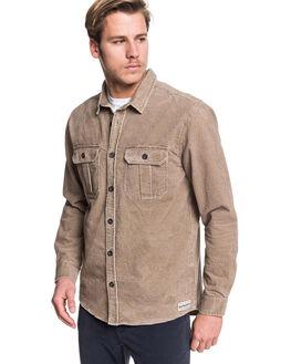 CARIBOU MENS CLOTHING QUIKSILVER SHIRTS - EQYWT03867-SZE0