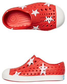 TORCH RED WHITE KIDS TODDLER BOYS NATIVE FOOTWEAR - 13100101-8544