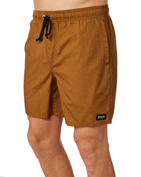 SAND MENS CLOTHING AFENDS BOARDSHORTS - M183359SND