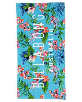 BLUE WAVE WOMENS ACCESSORIES BILLABONG TOWELS - 56827213BW