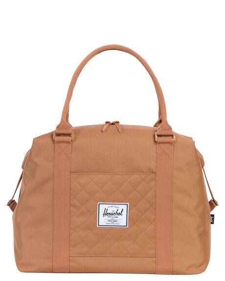 Herschel Supply Co Strand Quilted Weekend Bag - Caramel  e6dd0d015c6a3