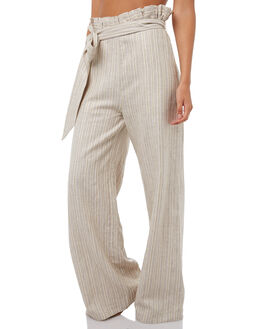 STRIPE GOLD WOMENS CLOTHING WILDE WILLOW PANTS - K359-1STR