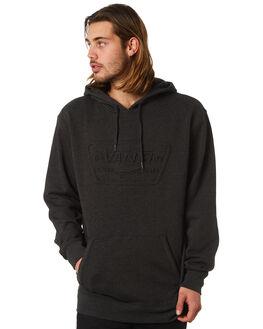 BLACK HEATHER MENS CLOTHING VANS JUMPERS - VNA3HPGBHH