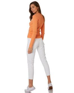 WHITE WOMENS CLOTHING DR DENIM JEANS - 1430113-199
