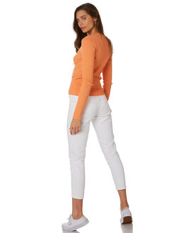 WHITE WOMENS CLOTHING DR DENIM JEANS - 1430113-199
