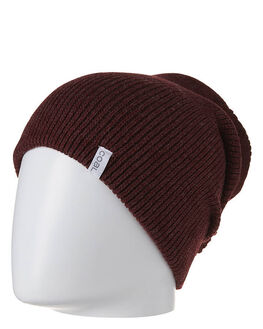 HEATHER BURGUNDY MENS ACCESSORIES COAL HEADWEAR - COBEFRESHBUR