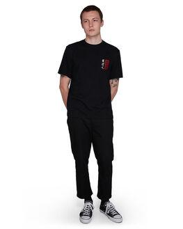 FLINT BLACK MENS CLOTHING ELEMENT TEES - EL-107022-IFL
