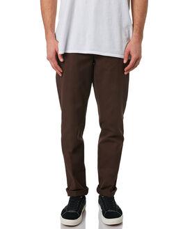 CHOCOLATE BROWN MENS CLOTHING DICKIES PANTS - WE872CBRN