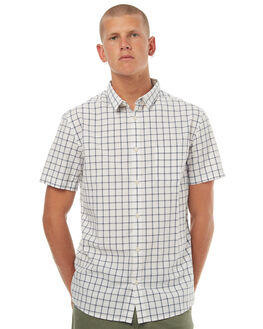 SNOW WHITE EVERYDAY MENS CLOTHING QUIKSILVER SHIRTS - EQYWT03572WBB1