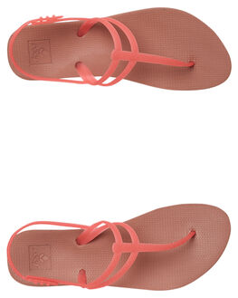 HOT PINK WOMENS FOOTWEAR REEF THONGS - A3FD5HPNK