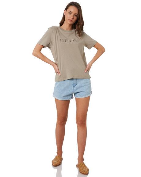 MAUI STONE WOMENS CLOTHING RIDERS BY LEE SHORTS - R551715MF9
